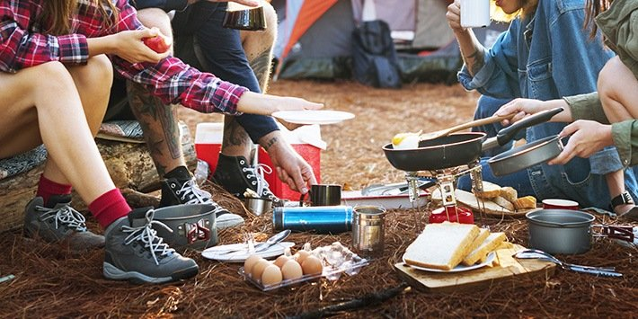 People Friendship-Hangout-Traveling-Destination-Camping