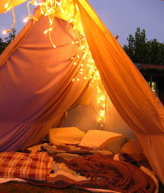 13 Ridiculously Romantic Camping Ideas For Couples ... on Romantic Backyard Ideas id=71564