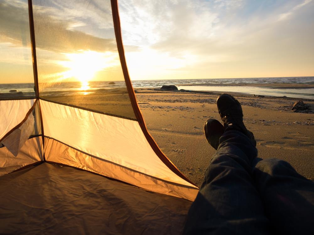 Don't Drown In Your Tent: Follow These Beach Camping Tips