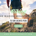 Hiking The Marion Mountain Trail to San Jacinto Peak